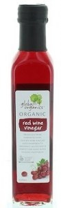 Global Organics Red Wine Vinegar  250ml