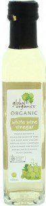 Global Organics White Wine Vinegar  250ml