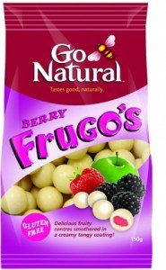 Go Natural Berry Frugo's  150g