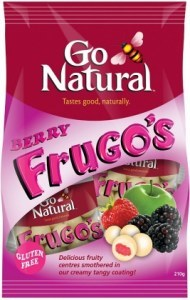 Go Natural Berry Frugo's in Yoghurt 8x210g