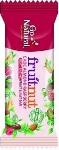 Go Natural Raw Cocao Fruitnut Raspberry Activated Almonds 12x40g