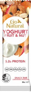 Go Natural Yoghurt Fruit & Nut Delight Bars 16x50g
