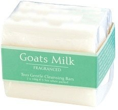 Goats Milk Fragance Soap 2x100g