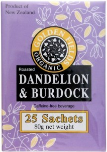 Golden Fields Organic Coffee Dandelion & Burdock (25Sachets) 80g