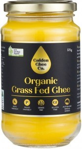 Golden Ghee Co Organic Grass Fed Ghee  325g