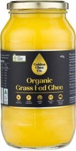 Golden Ghee Co Organic Grass Fed Ghee  685g