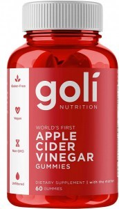 Goli Apple Cider Vinegar Gummies 60 Pieces