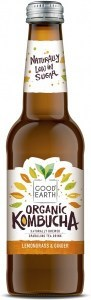Good Earth Organic Kombucha Lemongrass & Ginger 330ml