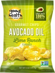 Good Health Avocado Oil Potato Chips Chilean Lime  142g