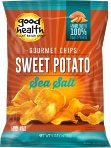 Good Health Sweet Potato Chips G/F 142g
