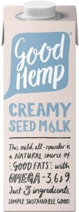 Good Hemp Creamy Hemp Seed Milk 1L