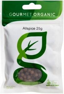 Gourmet Organic Allspice 25g Sachet x 1