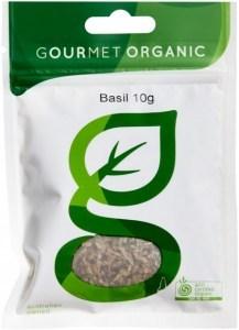 Gourmet Organic Basil 10g  Sachet x 1