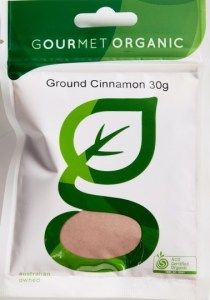 Gourmet Organic Cinnamon Ground 30g Sachet x 1