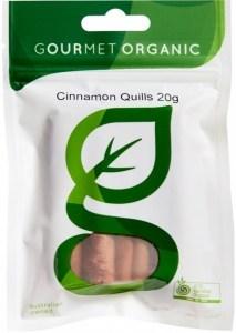 Gourmet Organic Cinnamon Quills 20g Sachet x 1