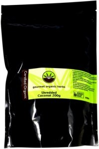 Gourmet Organic Coconut Shredded 200g