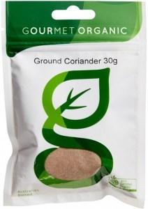 Gourmet Organic Coriander Ground 30g Sachet x 1