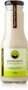 Gourmet Organic Creamy French Dressing 250ml JUL19