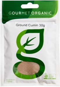 Gourmet Organic Cumin Ground 30g sachet x 1