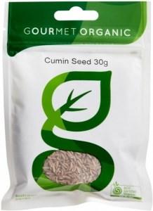 Gourmet Organic Cumin Seeds 30g Sachet x 1