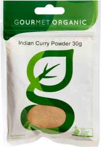 Gourmet Organic Curry Indian Powder 30g Sach x 1