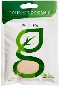 Gourmet Organic Ginger Ground 30g Sachet x 1