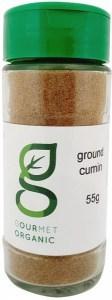 Gourmet Organic Ground Cumin Shaker 55g