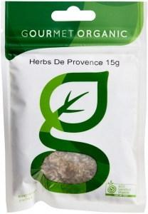 Gourmet Organic Herb De Provence 15g Sachet x 1