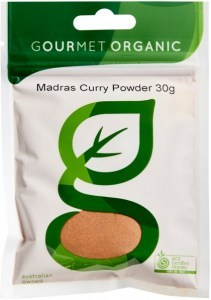 Gourmet Organic Madras Curry Powder 30g Sachet