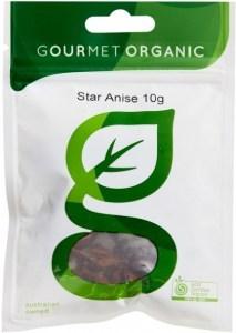 Gourmet Organic Star Anise 10g Sachet x 1