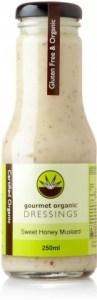 Gourmet Organic Sweet Honey Mustard Dressing 250ml