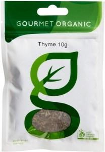 Gourmet Organic Thyme 10g Sachet x 1
