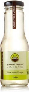 Gourmet Organic White Wine Vinegar 250ml