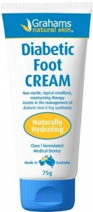 Grahams Natural Diabetic Foot Cream 75g