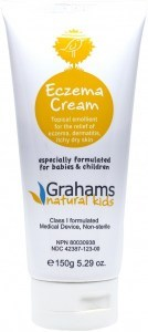 Grahams Natural Kids Baby Eczema Cream Class I MD 150g Tube