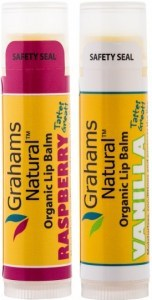 Grahams Organic Lip Balm Super Deal ( Two for the price of One )