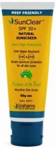 Grahams SunClear Sunscreen 30+ W/Resistant 50gm