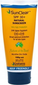 Grahams SunClear Sunscreen Natural SPF 30+ W/Resistant 150g