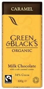 Green & Blacks Caramel Milk Chocolate 100g