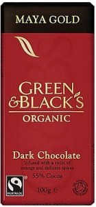 Green & Blacks Maya Gold Dark Chocolate 100g