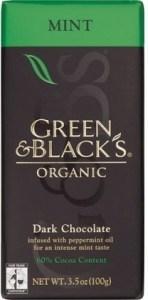 Green & Blacks Mint Dark Chocolate 100g