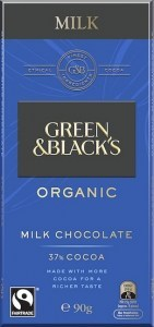 Green & Blacks Milk Chocolate 100g