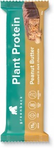 Greenback Plant Protein Peanut Butter Coated in Dark Chocolate Bar 12x50g