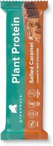 Greenback Plant Protein Salted Caramel Coated in Dark Chocolate Bar 12x50g