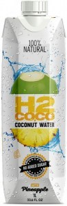 H2Coco Pineapple Coconut Water 6x1L