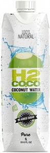 H2Coco Pure Coconut Water 6x1L