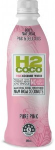 H2Coco Pure Pink Coconut Water 24x280ml