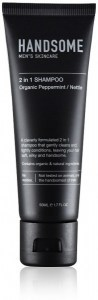 Handsome Men's Organic Skincare 2 in 1 Shampoo Peppermint/Nettle 50ml