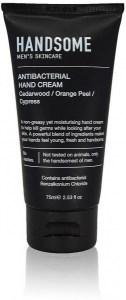 Handsome Men's Organic Skincare Antibacterial Hand Cream Tube 75ml