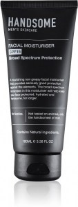 Handsome Mens Skincare Facial Moisturiser SPF15 100ml